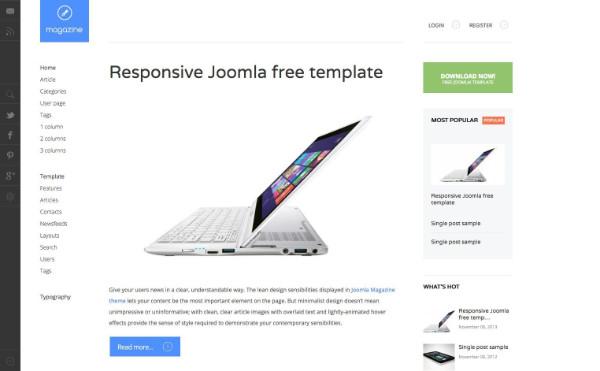 template joomla gratuit