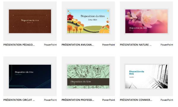 template powerpoint gratuit