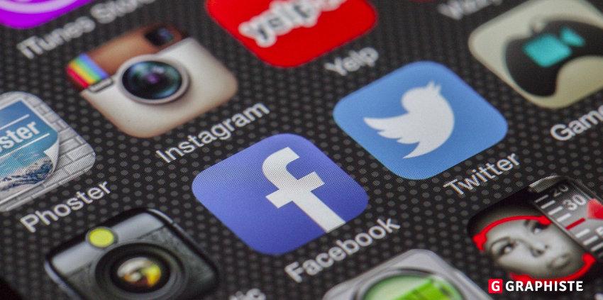 visuels sur les réseaux sociaux