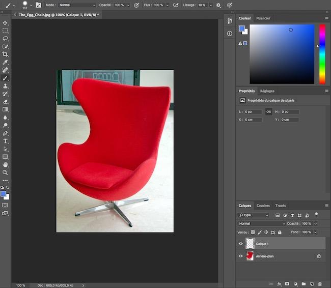 changer couleur photoshop
