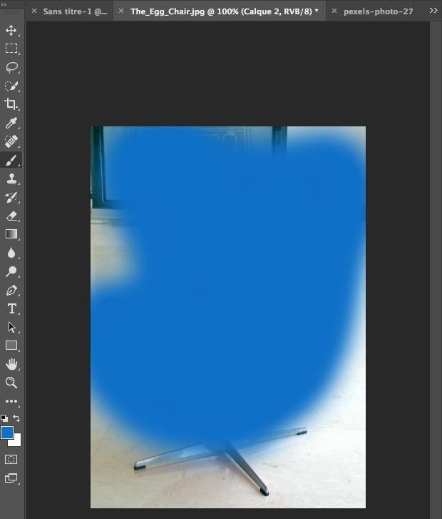 changer la couleur d'un objet dans photoshop