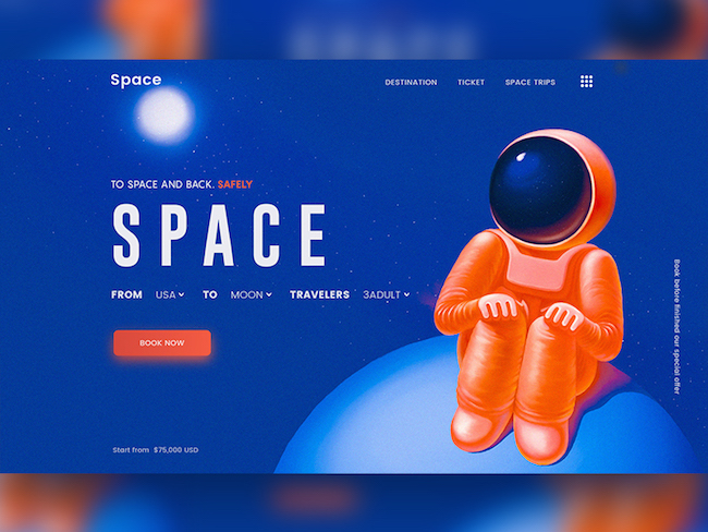 site web espace