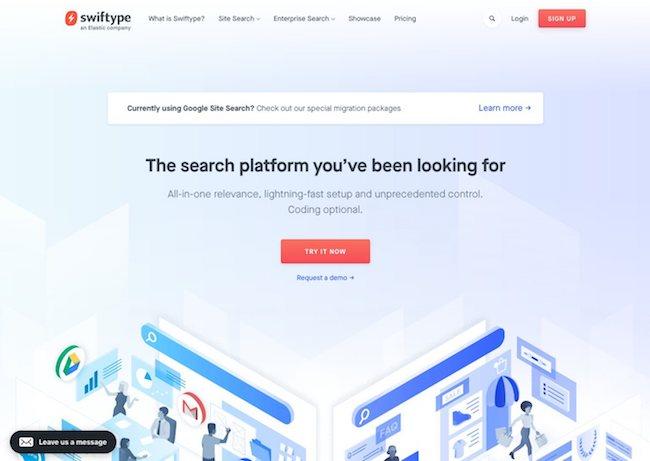 alternative à google site search