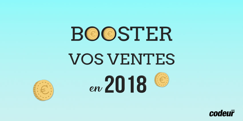 booster ventes 2018