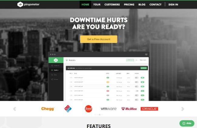 outil de monitoring de site web