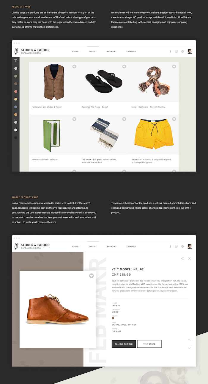 design site de mode