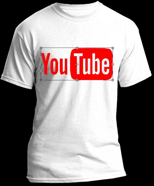 incruster un logo sur un t shirt dans photoshop