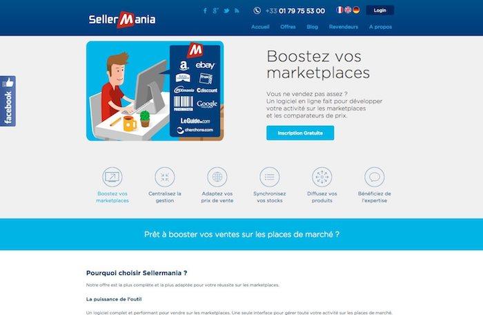 gestionnaire de flux e-commerce sellermania
