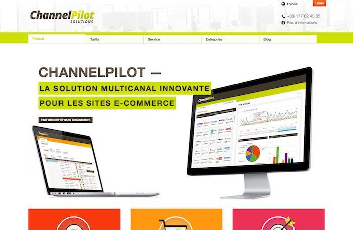 gestionnaire de flux e-commerce channelpilot