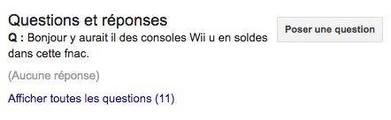 questions réponses google business
