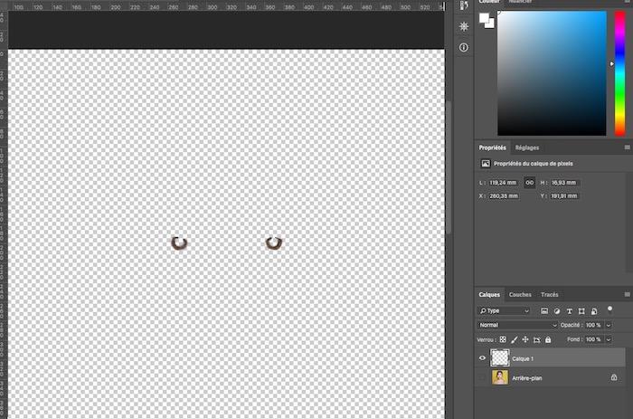 changer la couleur des yeux dans photoshop