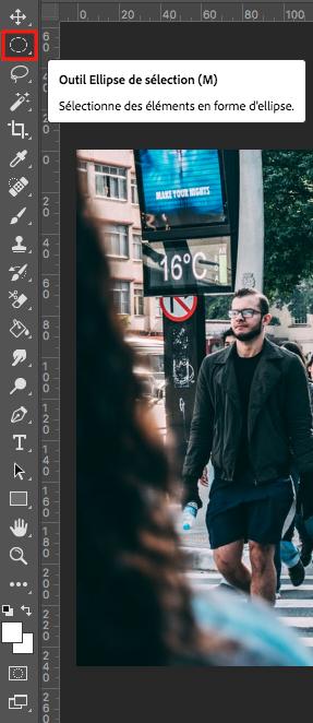flouter un visage sur photoshop