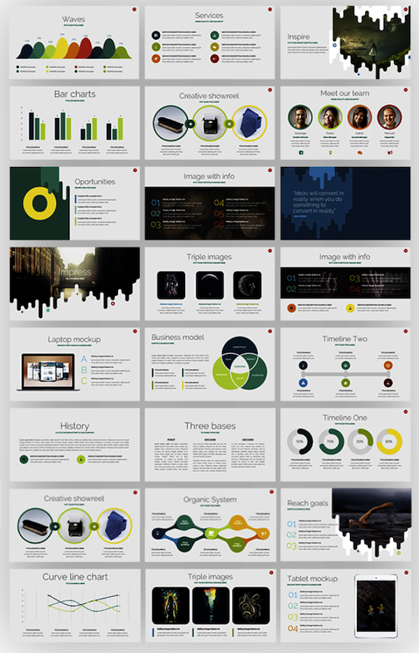 Free business template powerpoint