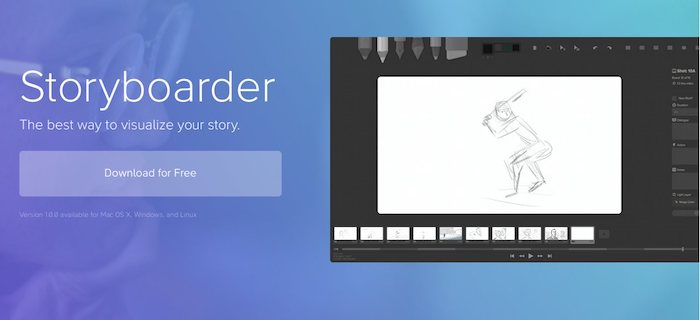 logiciel de storyboard