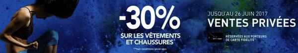 Campagne réduction pour carte de fidélité - Intersport