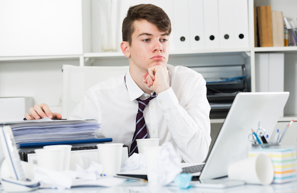 Perte de temps au travail : le désordre et le manque d'orgnisation