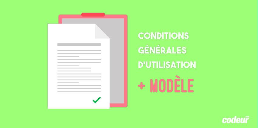 Modèle de conditions générales d'utilisation de site web