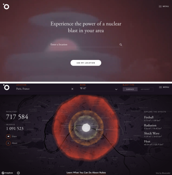Data visualisation Bom - Site web interactif