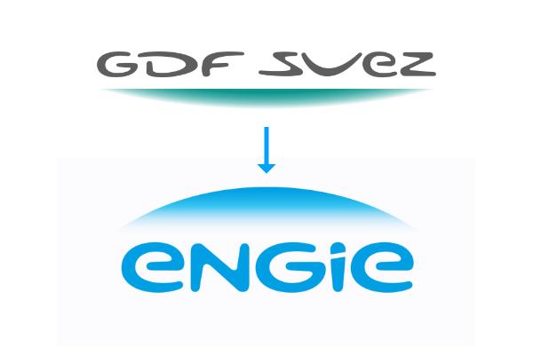 Rebranding GDF Engie