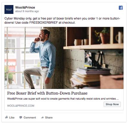 Facebook Ads sentiment urgence