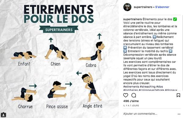 Infographie Instagram