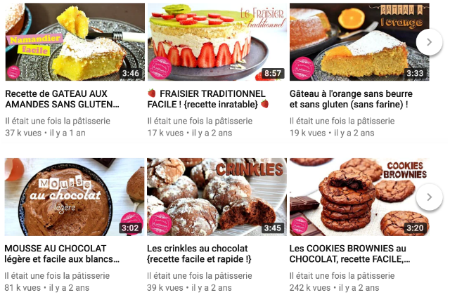 Miniatures videos youtube patisserie