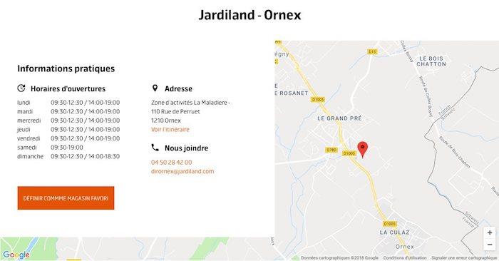 carte statique google maps
