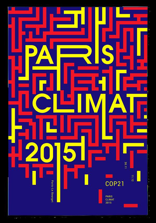 affiche paris climat