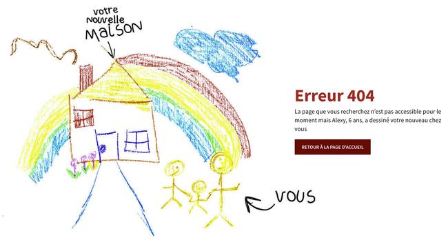 Erreur 404 dessin enfant