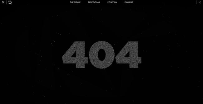 Erreur 404 interactif