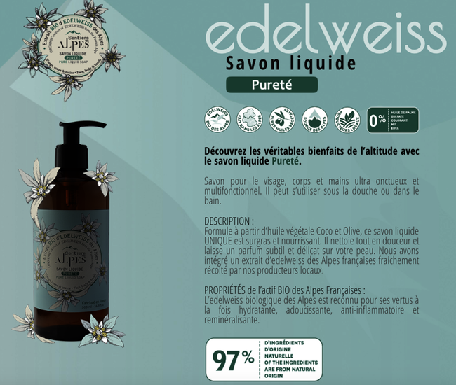 Illustration packagin savon