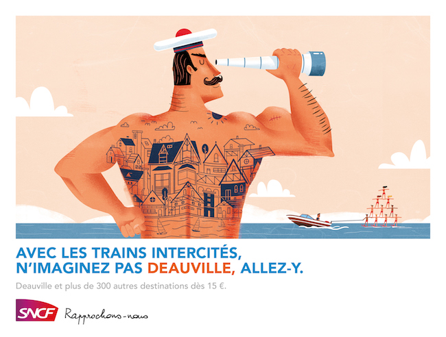 Illustration affiche SNCF