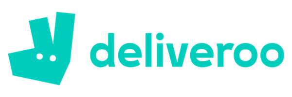 Logo minimaliste deliveroo