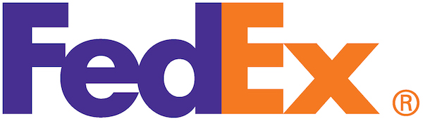 Logo Fedex minimaliste