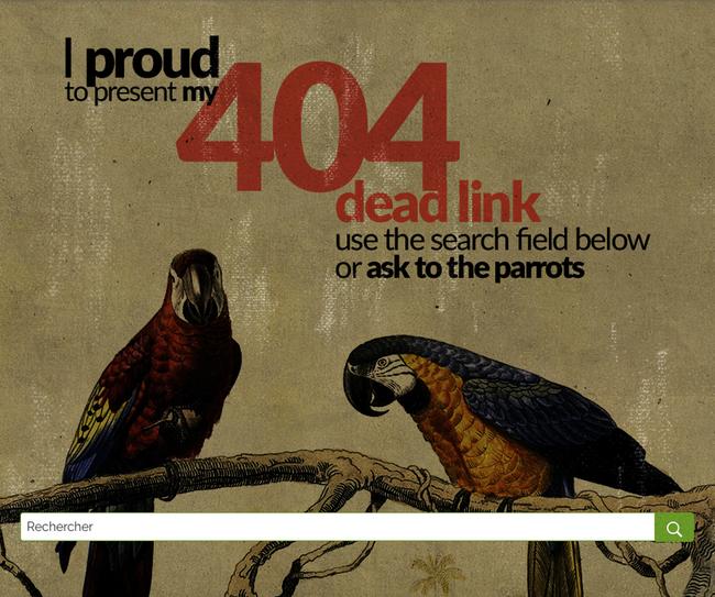 Page 404 portfolio