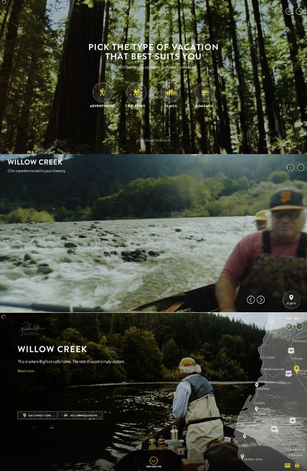 Site interactif voyage Humbolt