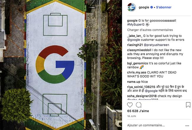 Identité visuelle Google
