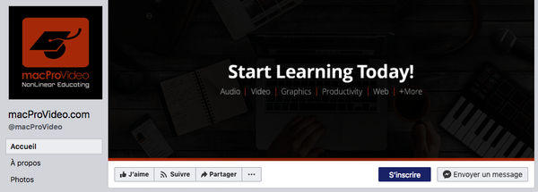 Couverture Facebook overlay