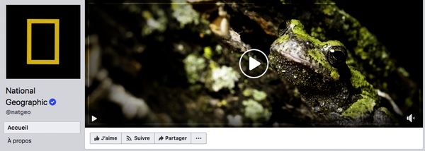 Couverture Facebook vidéo