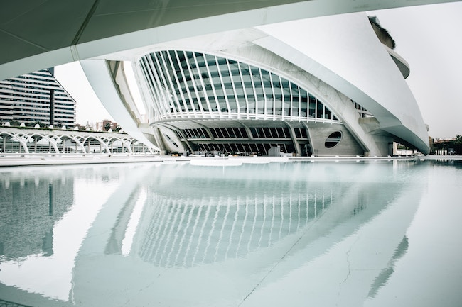 Photo architecture reflet