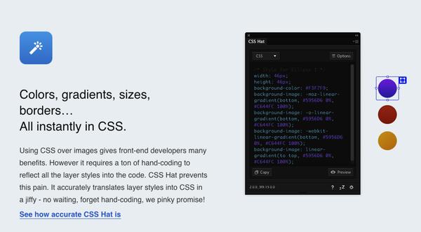 Plugin CSS Photoshop