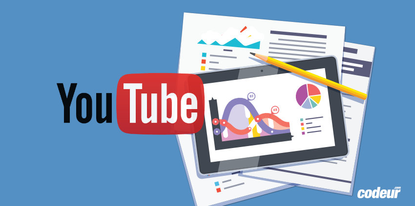 Principaux indicateurs Youtube Analytics