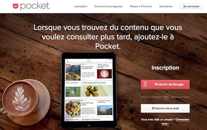 pocket, outil de curation de contenu