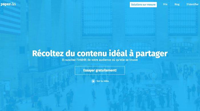 paper.li, outil de curation de contenu