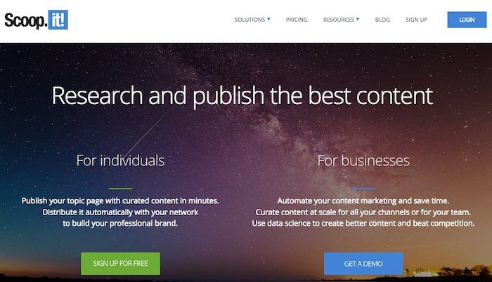 scoop.it, outil de curation de contenu