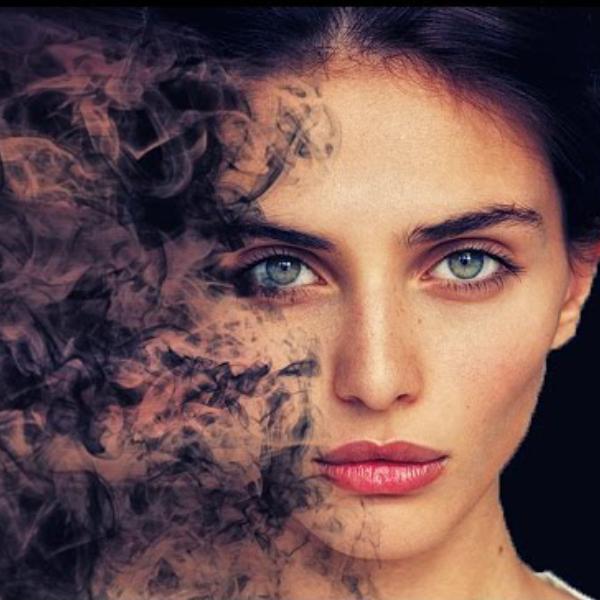 Effet smoke Photoshop 3