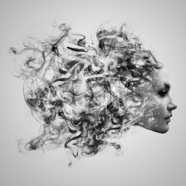 Effet smoke Photoshop 2