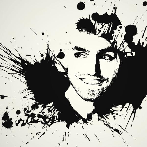 Effet ink Photoshop 2