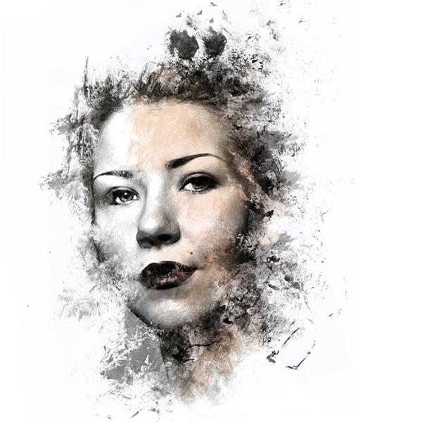 Effet ink Photoshop 3