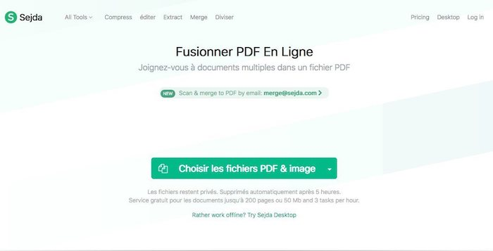 outil pour fusionner des pdf